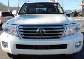 2014 TOYOTA LAND CRUISER NEATLY USED
